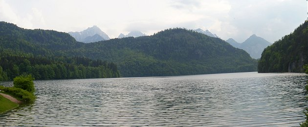 The Alpsee at Hohenschwangau
