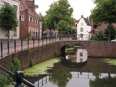 Pretty canals in Amersfoort