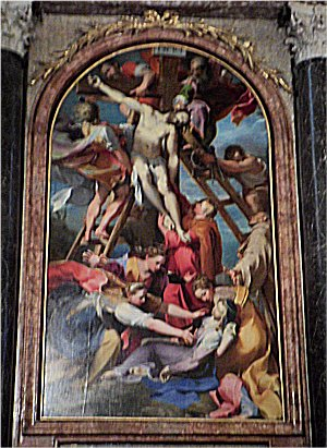 Barocci's descent from the Cross