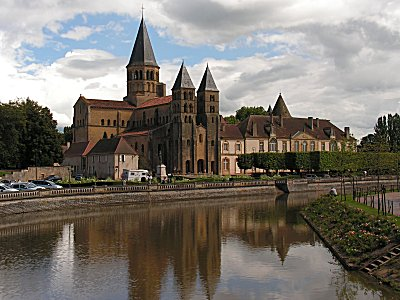The Basilica du Sacre Coeure at Paray-le-Monial