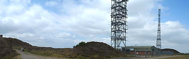 The summit of Brown Clee Hill