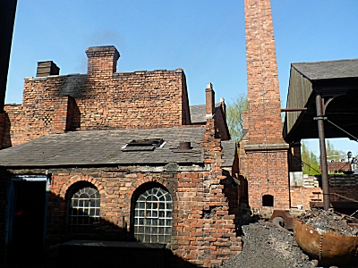 A foundry at the Black Country Museum