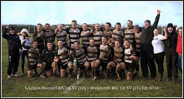 Bridgnorth firsts after an historic win against Leighton Buzzard