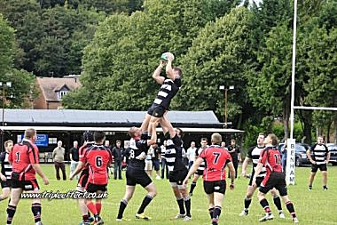 Bridgnorth linout against Walsall