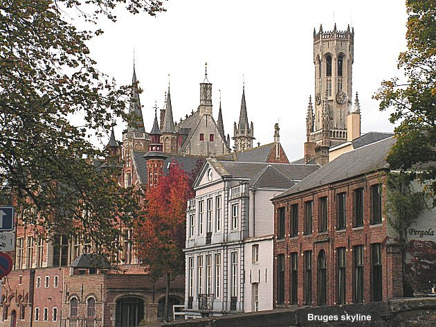 Woman in Bruges