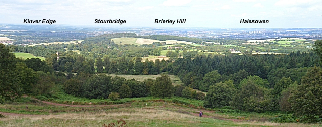 View from Clent Hill