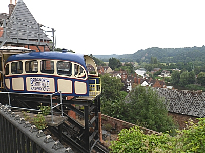The top cliff railway.