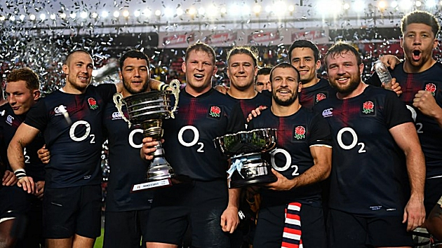 England win series against Argentina