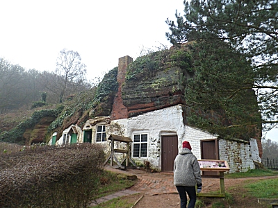 Rock houses at Kinver