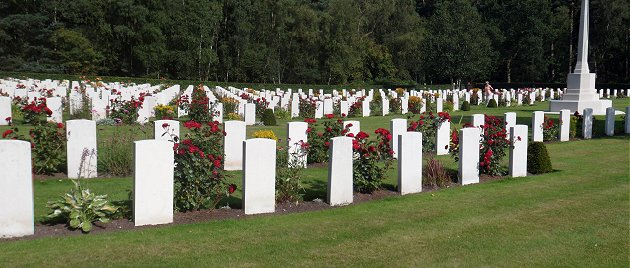 Cannock Chase German and Commonwealth War Cemetery