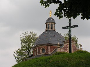 Hilltop church in Geraardsbergen