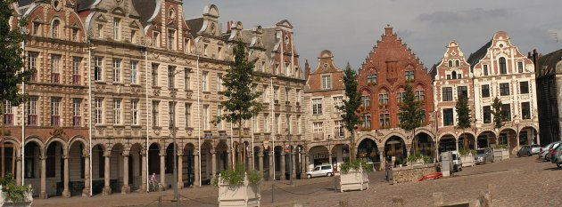 The Grand Place in Arras