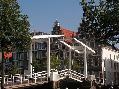 The Gravestenenbrug in Haarlem