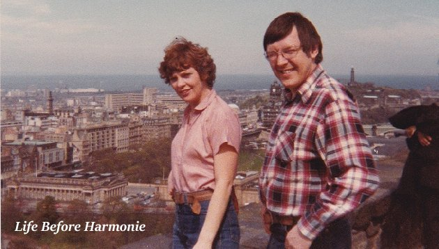 Roger & Sue in Edinburgh in 1975