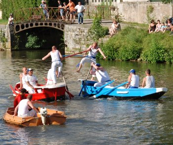 Water Jousting at Clamecy