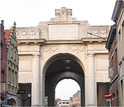 The Menen Gate at Ypres