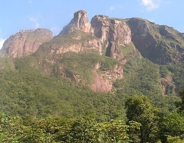 Mountain close to Curitiba