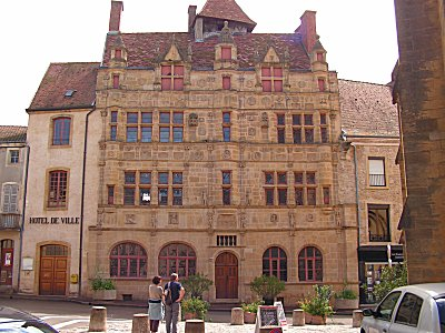 The Hotel de ville at Paray-le-Monial