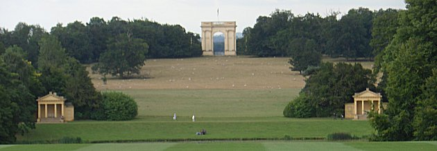 Pavilions and Corinthian Arch at Stowe House