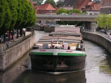 Barge at Tournai