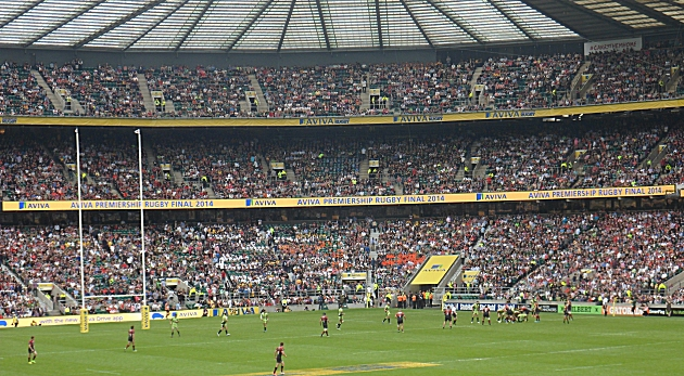 Saints v Sarries at Twickers