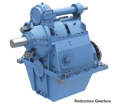 Ulstein 600agsc reduction gearbox.