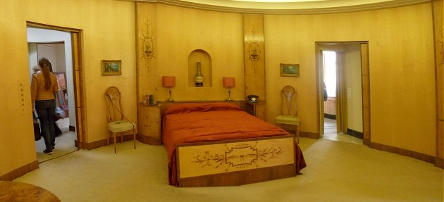 Virginia's bedroom at Eltham Palace