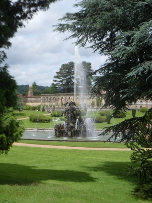 Perseus and Andromeda fountain at Witley Court